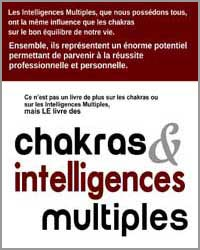 Livre chakras et intelligences multiples Patricia Chaibriant