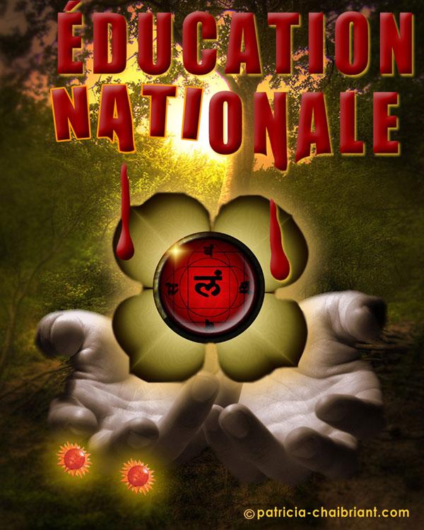 L'effet éducation nationale sur les chakras et les intelligences multiples