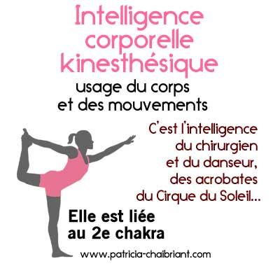 qu est ce que l intelligence corporelle kinesth 233 sique chaibriant