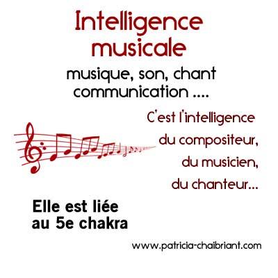 intelligences multiples définition de l'intelligence musicale liée au 5e chakra, le chakra de la gorge