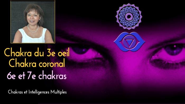 6e 7e chakra  intelligences multiples 700