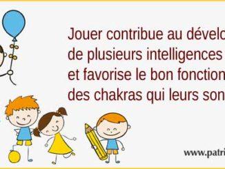 importance du jeu sur le développement des intelligences