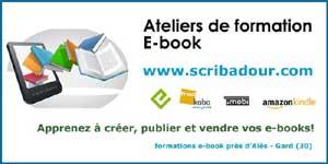 scribadour.com ateliers de formation E-book