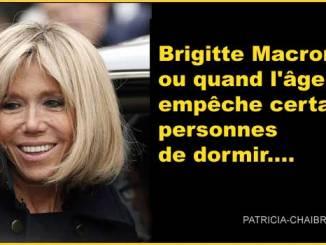 Brigitte Macron, ou quand l'âge empêche certaines personnes de dormir....