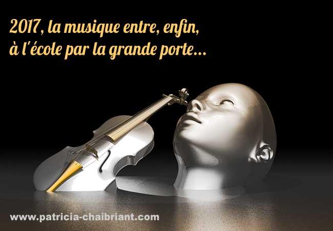 Jean-Michel Blanquer quand la musique entre, enfin, à l'école par la grande porte